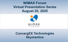 WiMAX Forum Virtual Presentation - Session 6