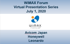 WiMAX Forum Virtual Presentation - Session 4