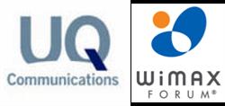 UQ & WiMAX Forum