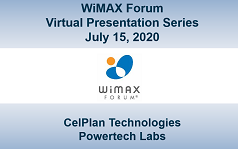 WiMAX Forum Virtual Presentation - Session 5