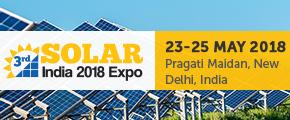 3rd Solar India 2018 expo